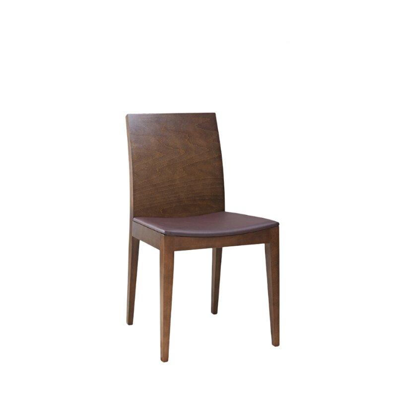 chaise en bois assise rembourree mindo p